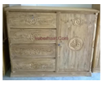 Wood wardrobe For Sale